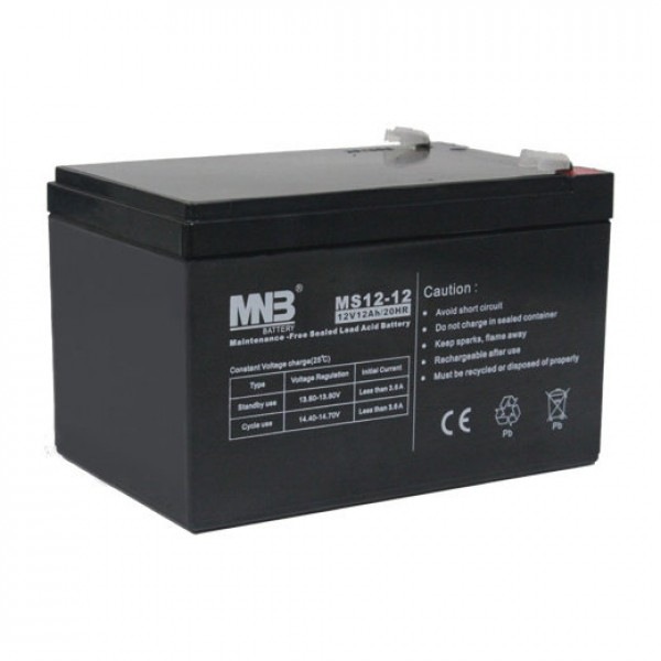 Аккумулятор MNB MS 12-12