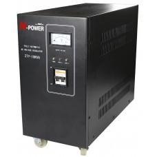 Стабилизатор напряжения N-Power Eco 10000SP1 ─ сервоприводный однофазный 10 кВА