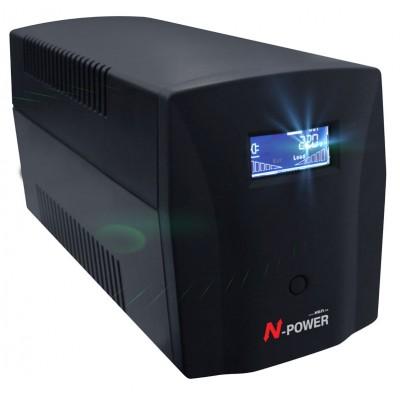 Интерактивный ИБП N-Power Gamma-Vision 1500LCD ─ однофазный ИБП 1500 ВА