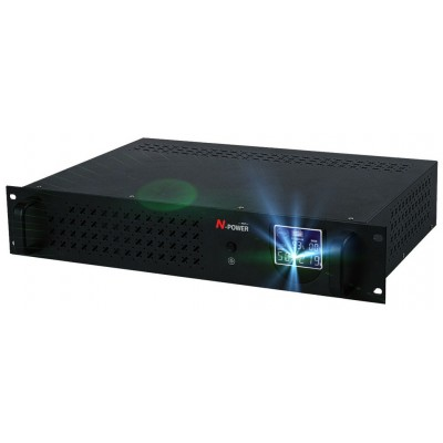 "Gamma-Vision 1200RM ─ однофазный ИБП 1200 ВА 19"""