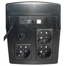 Интерактивный ИБП N-Power Gamma-Vision 1200LCD ─ однофазный ИБП 1200 ВА