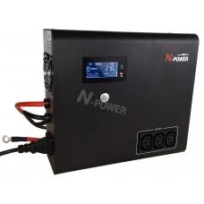 Интерактивный ИБП N-Power Home-Vision 1500-12V ─ ИБП для дома 1500 ВА модифицированный синус