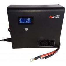 Интерактивный ИБП N-Power Home-Vision 1000W ─ ИБП для дома 1000 ВА синус
