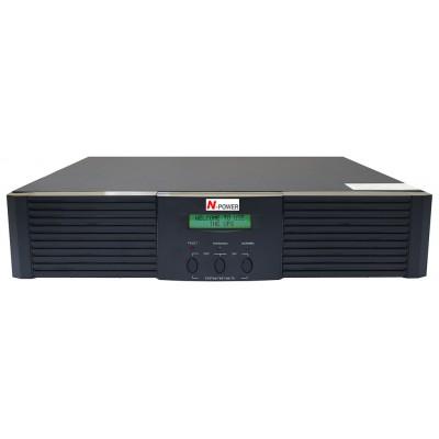"""ИБП с двойным преобразованием N-Power Master-Vision 2000 RM LT ─ ИБП 2000 ВА online 19"""""""