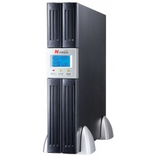 "ИБП с двойным преобразованием N-Power Mega-Vision 1000 ERT LT ─ однофазный ИБП 1000 ВА 19"""