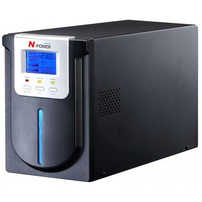 ИБП с двойным преобразованием N-Power Mega-Vision 1000 LT ─ однофазный ИБП 1000 ВА online