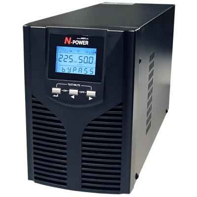 ИБП с двойным преобразованием N-Power Pro-Vision Black M1000 P LT ─ однофазный ИБП 1000 ВА online