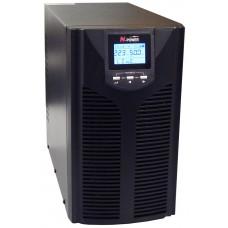 ИБП с двойным преобразованием N-Power Pro-Vision Black M2000 P LT ─ однофазный ИБП 2000 ВА online