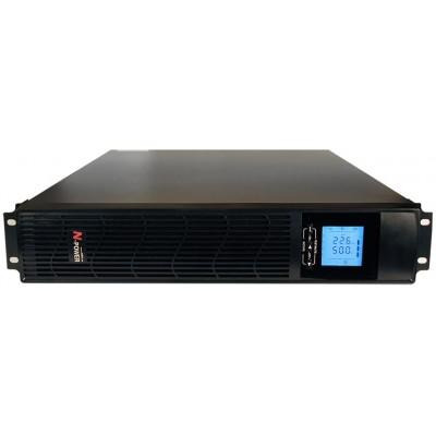 "ИБП с двойным преобразованием N-Power Pro-Vision Black M2000 P RT LT ─ однофазный ИБП 2000 ВА 19"""