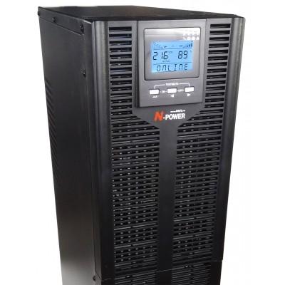 ИБП с двойным преобразованием N-Power Pro-Vision Black M10000 P4  LT ─ однофазный ИБП 10 кВА online