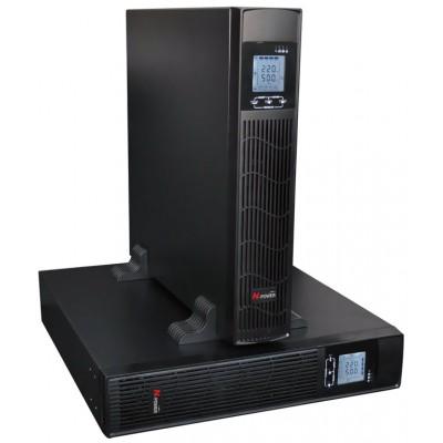 """ИБП с двойным преобразованием N-Power Pro-Vision Black M10000 RT LT ─ однофазный ИБП 10 кВА 19"""""""