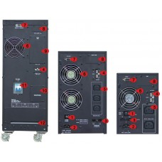 ИБП с двойным преобразованием N-Power Pro-Vision Black 1000 ─ однофазный ИБП 1000 ВА online