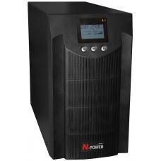 ИБП с двойным преобразованием N-Power Pro-Vision Black 3000 ─ однофазный ИБП 3000 ВА online
