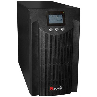 ИБП с двойным преобразованием N-Power Pro-Vision Black 3000 LT ─ однофазный ИБП 3000 ВА online