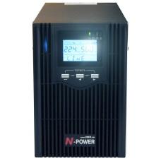 Интерактивный ИБП N-Power Smart-Vision S1000N LT ─ однофазный ИБП 1000 ВА синус